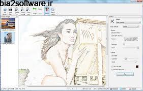 تبدیل عکس به نقاشی سیاه قلم (نقاشی با مداد) Sketch Drawer 1.4