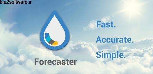 Forecaster v3.2.0 پیش بینی آب و هوای اندروید
