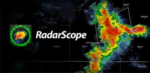 RadarScope v3.3.1 هواشناسی قدرتمند اندروید
