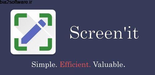 اسکرین شات حرفه ای اندروید Screen'it – Screenshot Tool v0.2.63