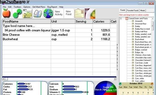 کالری شمار Calorie Balance Diet