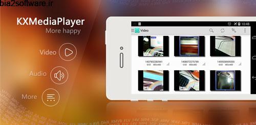 KX Media Player (HD,Free) v1.8.5 ویدیو پلیر اندروید