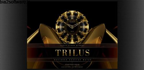 TRILUS Luxury Clock Widget v2.40 ویجت ساعت لوکس اندروید