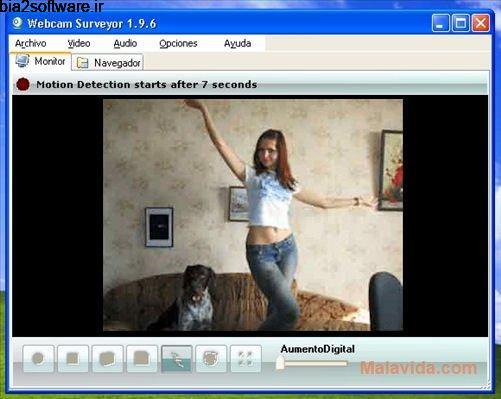 دزگیر حرفه ای Webcam Surveyor 1.9