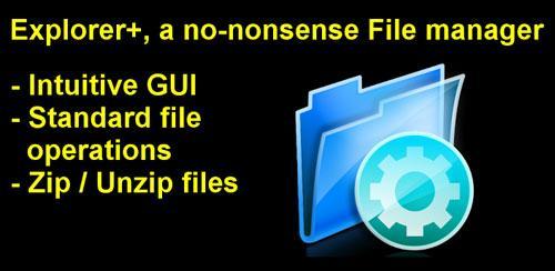 Explorer+ File Manager Pro v2.3.7 مدیریت فایل اکسپلورر