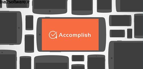 Accomplish: To-Do list reborn Premium v1.3 مدیریت وظایف اندروید