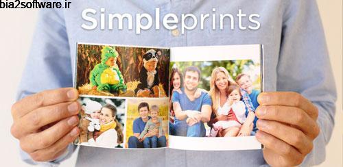 Simple Prints Photo Books 1.4.5 ساخت آلبوم عکس اندروید