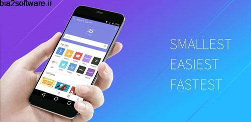 A5 Browser 1.0.1 مرورگر کم حجم و سریع اندروید