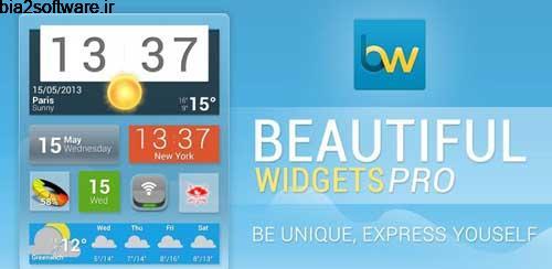 Beautiful Widgets Pro v5.7.7 ویجت های زیبا در اندروید