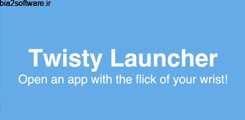 Twisty Launcher 1.0.5 تویستی لانچر اندروید