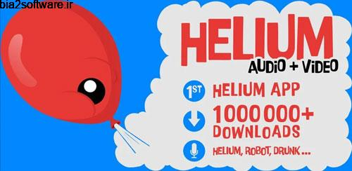 Helium Voice Changer + Video Pro v2.9.9 تغییر صدای اندروید