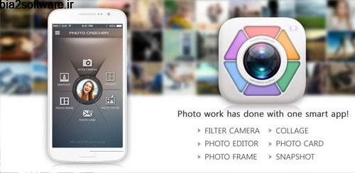 Photocracker PRO -Photo Editor v1.1.1 ویرایشگر عکس اندروید