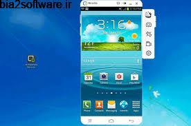 نمایش صفحه گوشی در کامپیوتر (برای ویندوز) Wondershare MirrorGo 1.5.1 Windows
