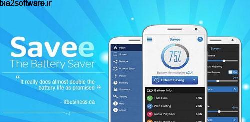 Savee: Battery Saver Optimizer v1.4.7 بهینه سازی باتری اندروید