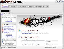 اشتراک گذاری فایل (برای ویندوز)  Shareaza 2.7.9.0 Windows