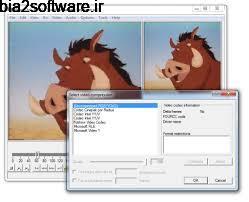 ویرایش فیلم (برای ویندوز)  VirtualDub 1.10 Windows
