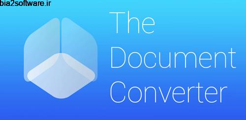 The Document Converter v3.0 تبدیل کتاب های الکترونیک اندروید