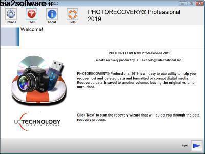 بازیابی عکس های پاک شده  LC Technology PHOTORECOVERY Pro 5.1.4