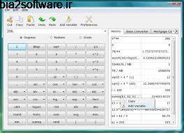 ماشین حساب مهندسی  Scabery Expression Calculator 2.1