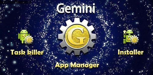 Gemini App Manager v3.3.5 مدیریت برنامه های اندروید