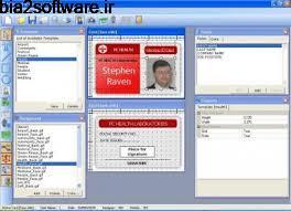 طراحی کارت شناسایی Advanced ID Creator Enterprise 10.5.2