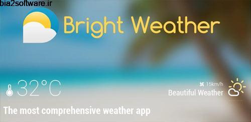 Bright Weather 1.3.1 پیش بینی آب و هوا برای اندروید
