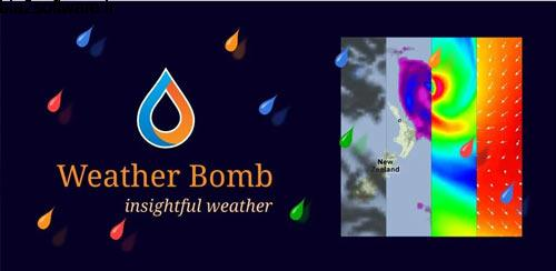 WeatherBomb 0.50.80 هواشناسی برای اندروید