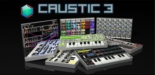 Caustic 3 3.1.2 ویرایش صدا برای اندروید