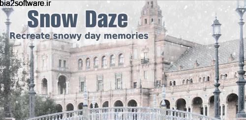 Snow Daze v1.06 تبدیل عکس به برفی