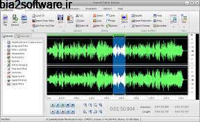 ویرایش فایل های صوتی Sound Editor Deluxe 9.9.2 Windows
