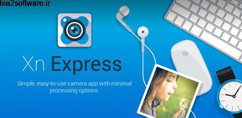 XnExpress Pro v1.60 Build 30 دوربین عکاسی حرفه ای برای اندروید