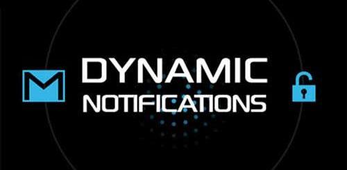 DynamicNotifications Premium v3.0 نوتیفیکیشن برای اندروید