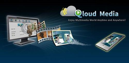 Qloud Media v4.0 اشتراک گذاری فایل ها در دستگاه اندروید