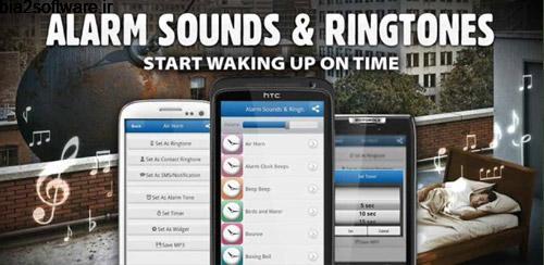 Alarm Sounds & Ringtones Pro v1.1.1 آلارم برای اندروید