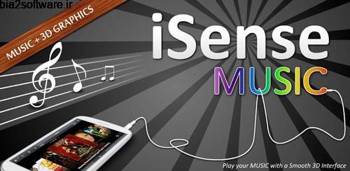iSense Music – 3D Music Player v2.005s موزیک پلیر برای اندروید