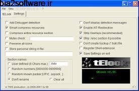 محافظت از فایل های اجرایی، مخصوص برنامه نویسان Telock 0.98 Windows