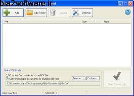 تبدیل فرمت XPS به PDF  Mgosoft XPS To PDF 11.3.5 Windows