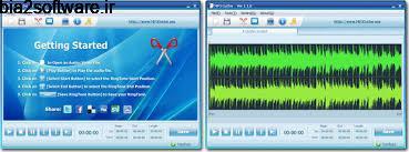 ویرایش و برش آهنگ  MP3 Cutter 3 Windows