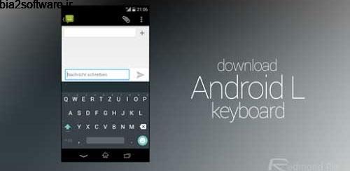 Android L Keyboard v3.1.20005 کیبورد برای اندروید