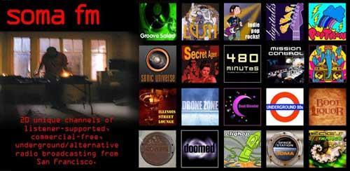 SomaFM Radio Player v2.2.2 رادیو برای اندروید