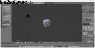 تولید متن و تصاویر 3 بعدی Blender 2.79b Windows