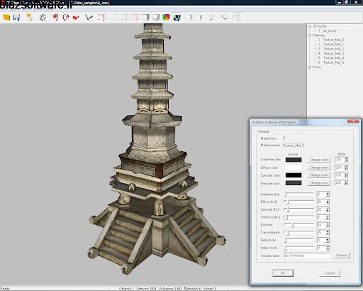تبدیل فرمت عنصرهای 3 بعدی 3D Object Converter 6.506 Windows