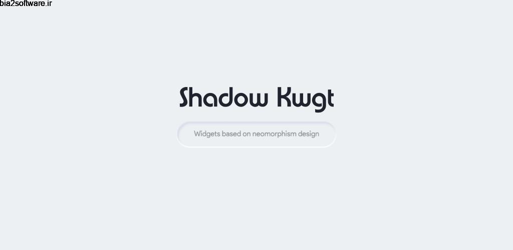 Shadow KWGT 3.3 ویجت های زیبا و کاربردی شادو مخصوص اندروید