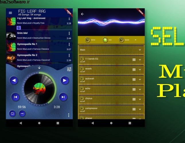 SELENIUM – Music Player 3.3.3 موزیک پلیر پیشرفته سلنیوم مخصوص اندروید