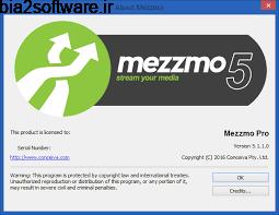 اشتراک گذاری فیلم و آهنگ، بین همه دستگاه های پخش خانگی  Conceiva Mezzmo 5.1.1 Windows