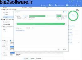 پارتیشن بندی EASEUS Partition Master Technician 12.5 Windows