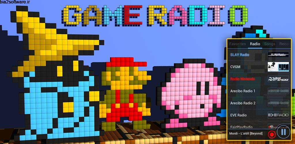 Retro Games Music – 8bit, Chiptune, SID Premium 4.6.8 رادیو آنلاین موزیک ۸ بیتی مخصوص اندروید