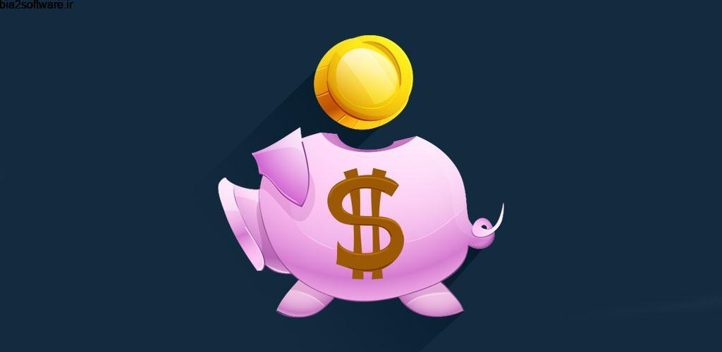PiggyBank: Savings Goal Tracker, Save Money Pro 1.1 مدیریت پس انداز مخصوص اندروید