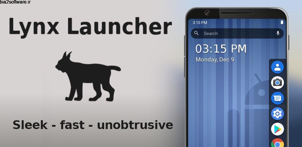 Lynx Launcher 1.2.4-0321 لانچر ساده، سریع و زیبای لینکس اندروید