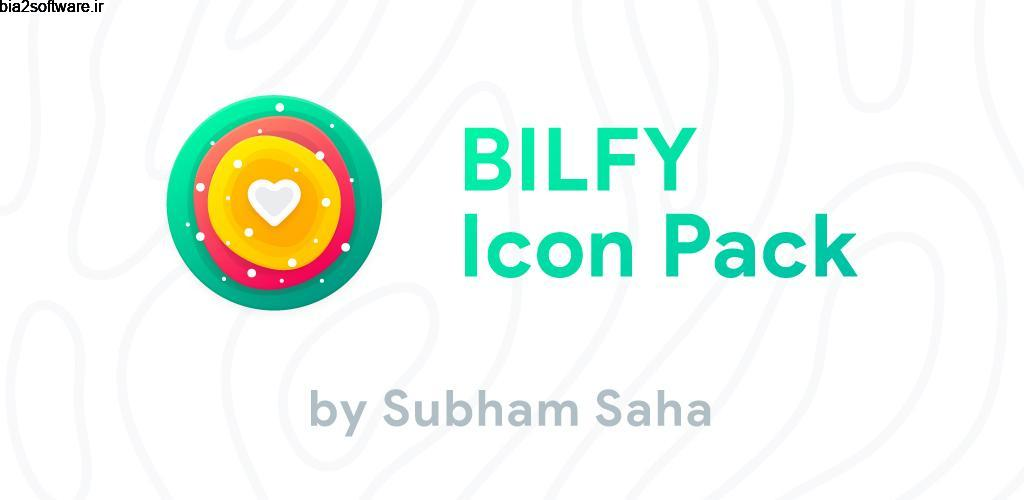 Bilfy Icon Pack 2.0 آیکون پک زیبای بلیفای مخصوص اندروید!